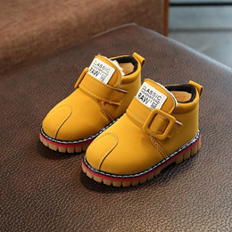 Winter children s snow boots boy shoes baby stuffed short boots girl baby shoes 1-3 infant Warm