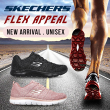 [SKECHERS] FLEX APPEAL AND GRACEFUL | EXCLUSIVE on Qoo10 | Memory Shoes | New Arrival! | Unisex |