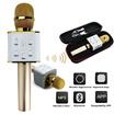 Microphone Karaoke Bluetooth Q7 Wireless Portable Mic and Speaker