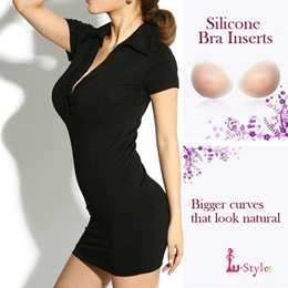 Original Looks Silicone Bra Inserts for Breast Enhance