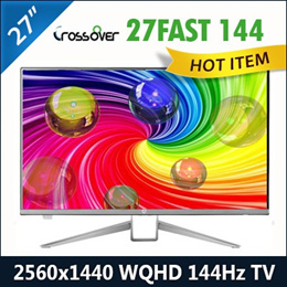 ★LOWEST PRICE★Crossover 27FAST 144 / 144Hz 2560 X 1440 WQHD / AH-VA Panel/Flicker Free/ Free Sync