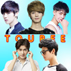 Toupee/wig/peruke toupee/handsome boy/bouffant hair/Korean men fashion