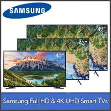 Samsung Smart TVs 40N5300 | UA43NU7100 | UA49NU7100 | Full HD / 4K UHD