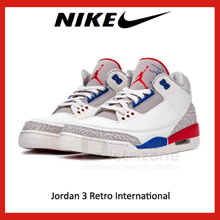 Jordan 3 Retro International (Code: 136064-140) [Preorder]