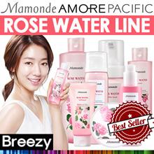 BREEZY ★ No Water! We Use Rose Water 90.89% [MAMONDE] Rose Water Toner 250ml / 500ml /Bubble Foam /