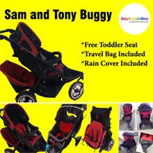 Sam and Tony Buggy ★ Free Toddler Seat ★ Travel Bag