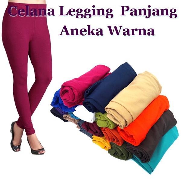 #HARGA GROSIR # Celana Legging Panjang Spandek balon / Good Qualit / ALl Size dan Jumbo Deals for only Rp29.000 instead of Rp29.000
