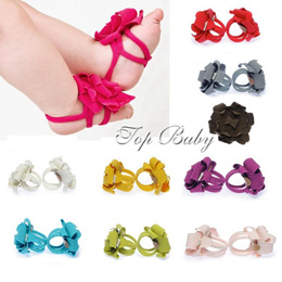 Top Baby Footbands/Sandals/Baby Shoes/Sock-holders