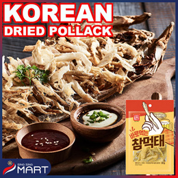 Dried pollack 35g Beer Some Eatables Korean Food Mart SINGSINGMART