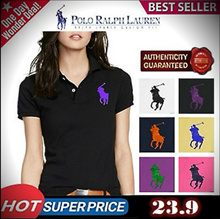 ★ POLO Ralph Lauren Women PK T-shirts ✨ 100% Authentic !