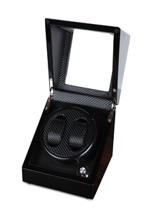 ★★ Carbon Fiber Battery / Power Operated Watch Winder ★★ Choice of 2+0 / 2+3 ★★ PERFECT GIFT for Valentines Day / Birthday / Gift Exchange /  Boyfriend / Girlfriend ★★