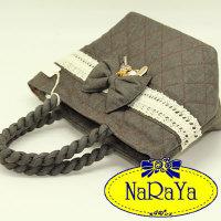 eeb431618cee Quick View Window OpenWish. NARAYA rate 1. NaRaYa Denim Ribbon Series ( Handbag ...