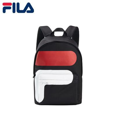 Qoo10 - FILA Backpack White Line F Logo Backpack Men Bags   Men s ...