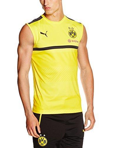 sale retailer b95a0 6e453 Direct from Germany - Puma Herren Bvb Sl Training Jersey with Sponsor  T-Shirt-