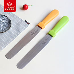 Baking Pastry Spatulas Straight Stainless Steel Kitchen Butter Cream Blade Cake Bakeware Tools 2017