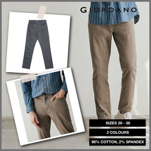 Men Mid Rise Regular Tapered Pants