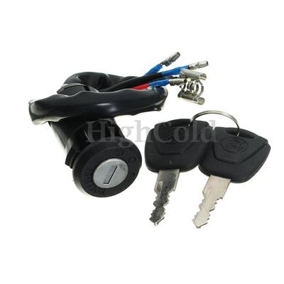 New Ignition Key Switch For Honda TRX125 FOURTRAX 125 ATC200M ATC125M ATC 200
