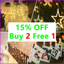 ★ 24th Nov ★ 15% OFF And Buy 2 Free 1 -  2017 Xmas - Christmas tree Led Fairy Light Party Deco