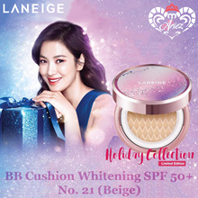 [Limited Edition] ☆Ariez☆ Laneige BB Cushion Whitening SPF50+ 15g x 2 No. 21 (Beige)