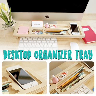 workspace office recycled tray desk plastic organizer accessories drawer organizers black supplies