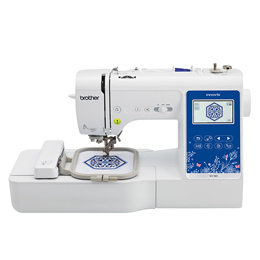 Brother NV180 - 3-in-1 Sewing + Embroidery + Quilting Machine + 2-Year Warranty | SewingGuru.com