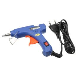 20W Switch-type Hot Melt Glue Gun with Singapore Plug  Free 10pcs Glue Sticks