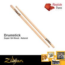 Zildjian Super 5A Wood - Natural Drumstick