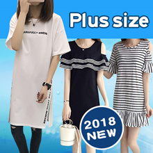 Limited-time preferential !2018 NEW FASHION PLUS SIZE DRESS