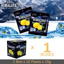 ⚡MAR SPECIAL⚡READY STOCK Himalaya Salt Sports Candy 1/2 boxes - Wholesale Bundle - Extra Cool Lemon