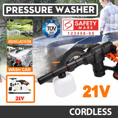Hydroblast Pressure Washer / Car Wash / Car Accessories / Safety Mark Approved