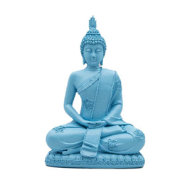 Buddha statues Figurines Blue Sandstone Buddha statues for figurines office decoration resin home cr