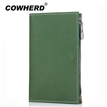 wholesale Passport wallet Split Genuine Leather Passport Cover Cowhide Passport Holder Case Cowherd