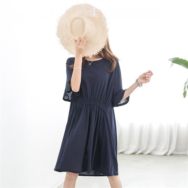 ピピンソエブラッフル小売腰バンディングワンピース34703 new ミニワンピース/ワンピース/韓国ファッション