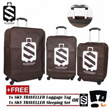 SKY TRAVELLER SKY314 3-In-1 Luggage Protector Cover Set (20Inch+24Inch+28Inch)