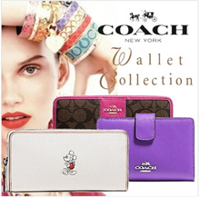[COACH] 100% AUTHENTIC COACH Wallet Collection ★ Special Offers !! Free Shipping ! FROM USA