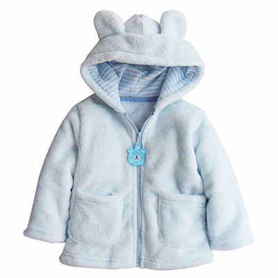 b9351d0d7213 Qoo10 - EGELEXY Toddler Baby Boys Girls Cartoon Fleece Hooded Jacket ...