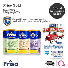 [FRISO] Friso Gold 2/3/4 1.8kg – Single tin | Made in Netherlands for SG | Official Friso Seller