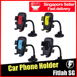 Car Phone Holder ★ Strong Suction Handphone Mount Accessories Mobile Stand 360 Degree Rotating
