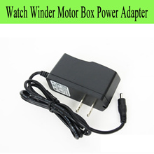 Piano Wood Elegant Watch Winder Motor Box Power Adapter And Dehumidifier Adapter Humidifier Adapter