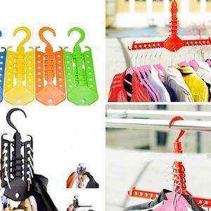 GANTUNGAN BAJU 2 MODEL / wonder hanger / magic hanger gantungan baju pakaian multifungsi portabel colorfull