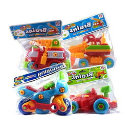 Baby Children&#39 s educational toy cars boys removable assembly disassembly and Assembly screws do
