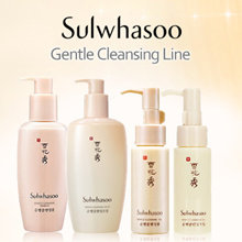 Sulwhasoo Gentle Cleansing Line ★ Cleansing Foam/Oil EX 50ML/200ML FREE SHIPPING!