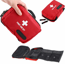 Emergency Medical Empty Bag First Aid Pack Survival Treatment Outdoor Sports Travel Camping Home Res