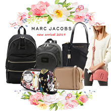 [Marc Jacobs] Genuine Marc Jacobs Bag Limited style Lady Handbag Women Shoulder Bag Backpack