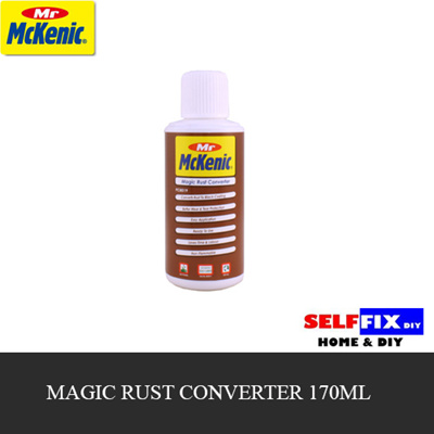 SELFFIX COUPON【MR MCKENIC】Magic Rust Converter 170ml {can be used on any  metal surface being corroded}