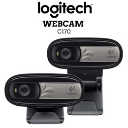 LOGITECH Webcam C170 / Fluid Crystal Technology / 2 Years Warranty
