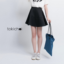 TOKICHOI - Structured A-Line Mini Skirt-170123
