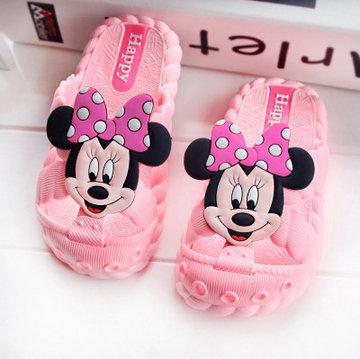 online fashion children slippers girls
