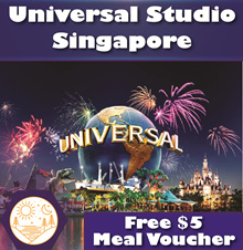 [FREE MEAL VOUCHER] UNIVERSAL STUDIO SINGAPORE USS E-Tickets - (EMAIL IN 30 MINS)
