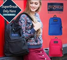 100% Authentic Jansport Bag JanSport backpack backpack Jasper solid bag waterproof bag school bag
